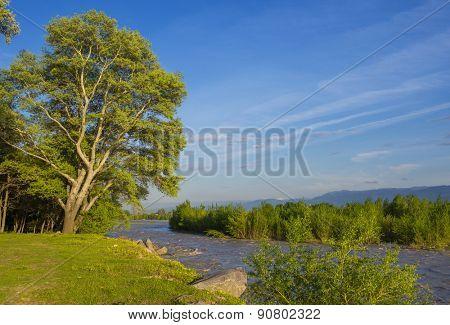 Kura River, Georgia