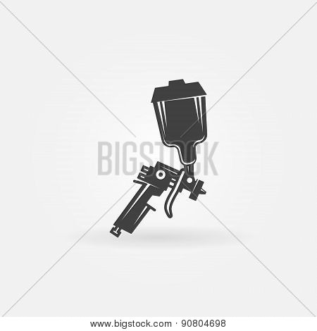 Spray gun vector icon