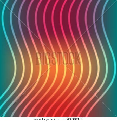 Tricolor Striped Background