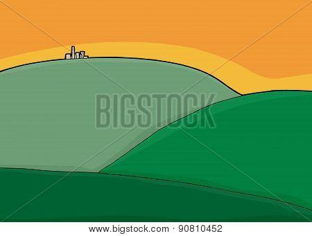 City On Green Hills