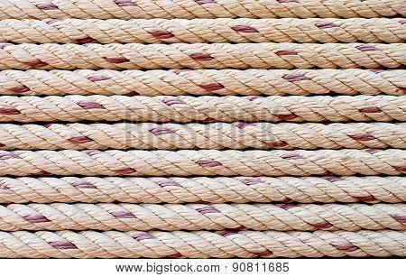 Nautical Rope Stripes Background