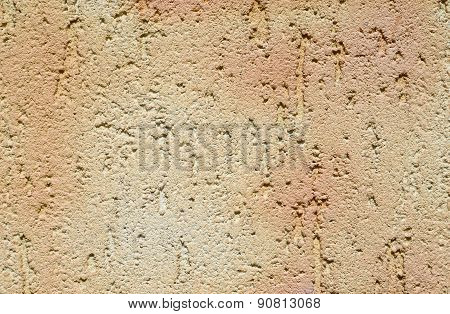 Colorful Decorative Relief Plaster On Wall
