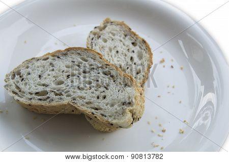 Bread Wholegrain Food Sesame Seed Cook Concept