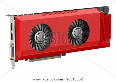 Red Video Card