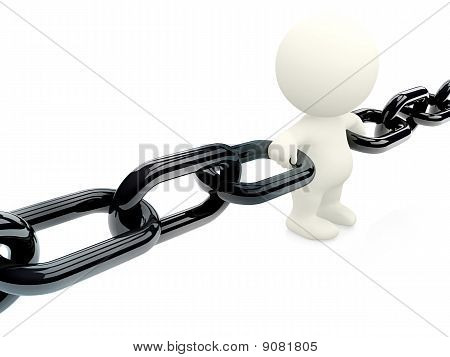 Holding 3D Chain Together