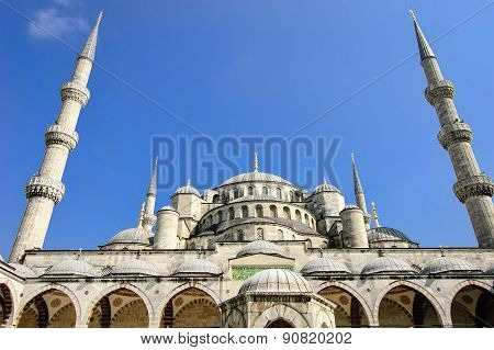 The Blue Mosque, Istanbul Turkey