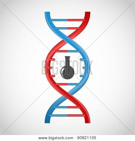 3D Dna Icon.