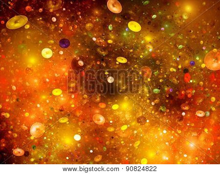 Cosmic Bubbles In Space
