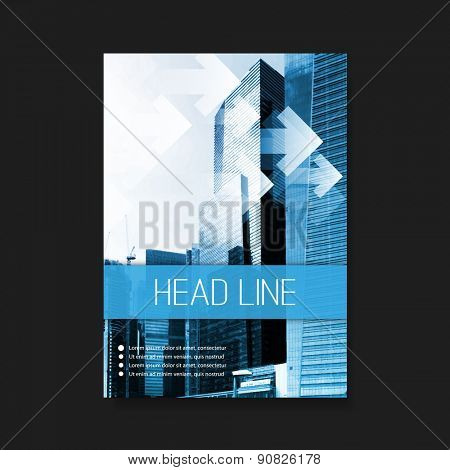 Flyer or Cover Design Template - Business, Corporate Identity
