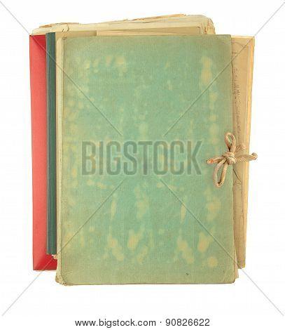 Folder Filling Old Papers