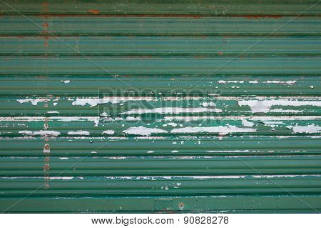 Dirty Green Wall Metal  Texture - Vintage Texture
