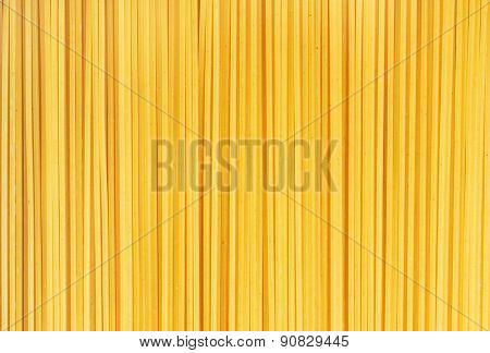 Spaghetti italian pasta background, close-up