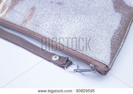 Simply Brown Zip Hand Bag