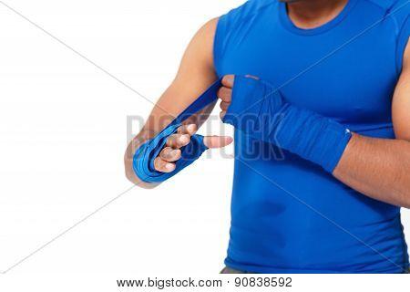 Applying Bandage