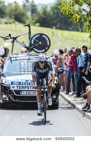 The Cyclist Niki Terpstra - Tour De France 2014