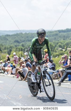 The Cyclist Perrig Quemeneur - Tour De France 2014