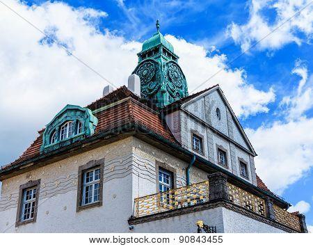 The Sprudelhof in Bad Nauheim, Germany