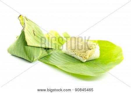Thai Dessert Sticky Rice Custard