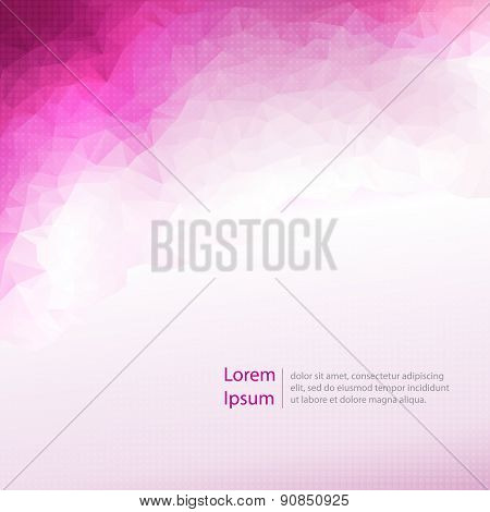 Abstract  light template background
