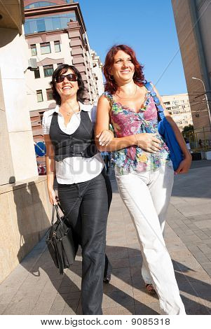Pretty Women Walking