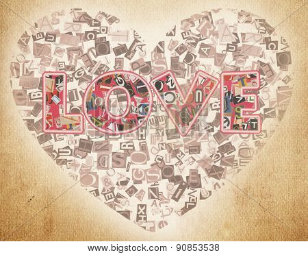word love letters from newspaper