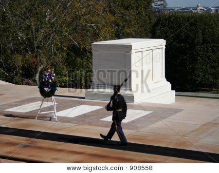 Tomb Of The Unknown Soldier Arlington Cemetary