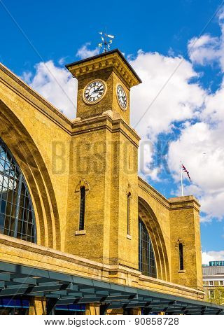 King's Cross Railway Station In London - England