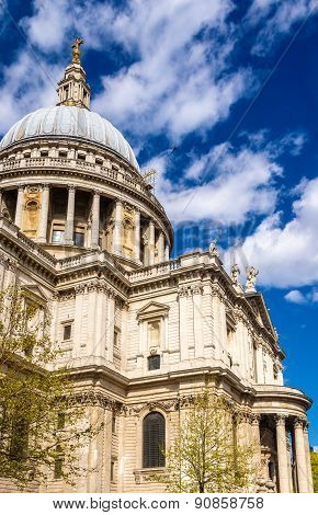 Details Of St Paul's Cathedral In London - England