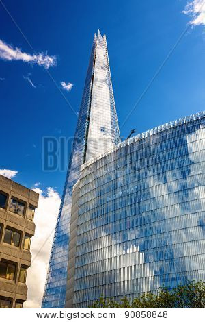 View Of The Shard, The Tallest London Skyscraper