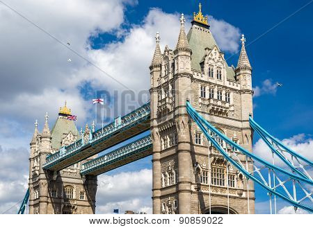 Tower Bridge, A Symbol Of London - England