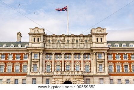 Facade Of The Old Admiralty Building - London, England