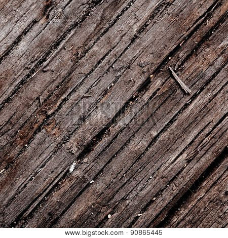 Old Damaged Wood Background Texture