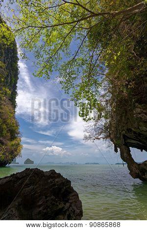 seascape off Phuket, Thailand.