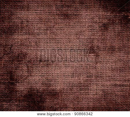 Grunge background of bole burlap texture