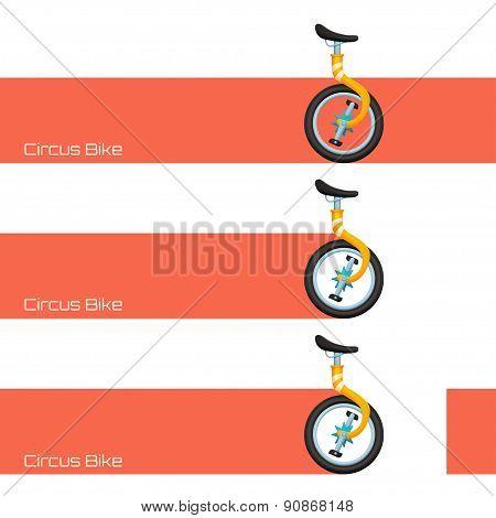 Circus Bike and Banner