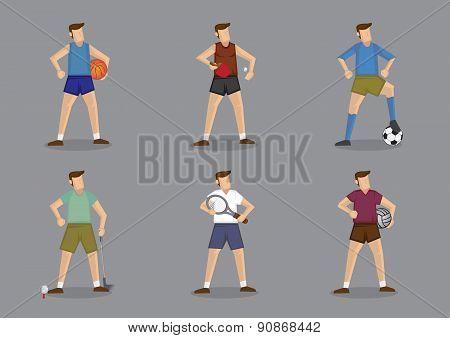 Ball Games Sportswear For Men