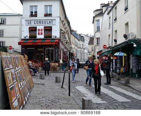 The Streets Of Paris.