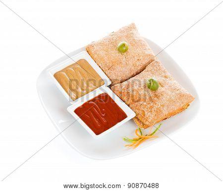 Whole Wheat Bread Sandwiches Double Grill