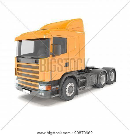 Cargo Truck - Orange