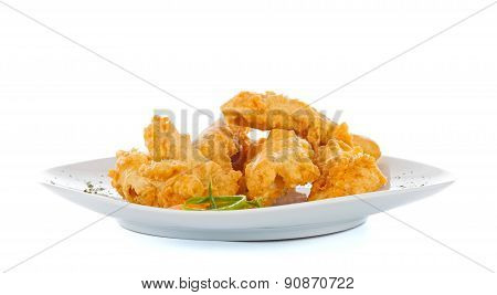 Crispy Strips With Bread Crumbs