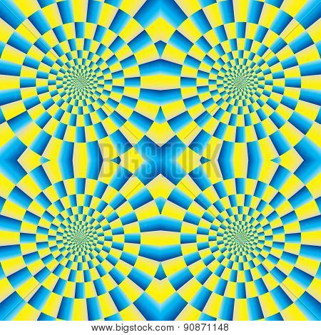 Rotation - Motion Illusion