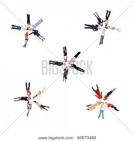 Corporate Teamwork IMAGINATION Concept