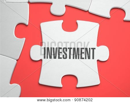 Investment - Puzzle on the Place of Missing Pieces.