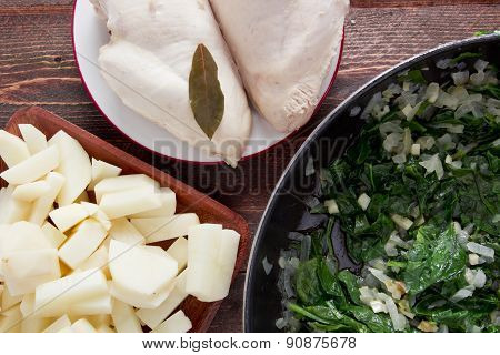 Ingredients Of Spinach Soup