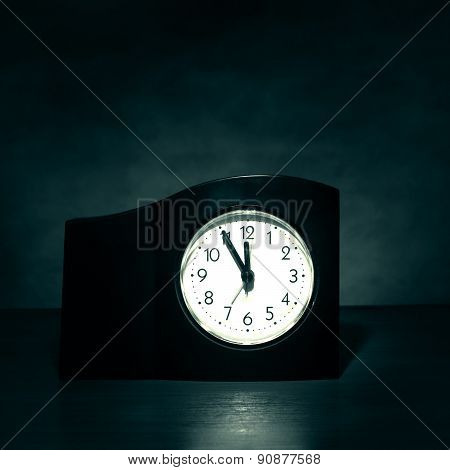Clock In The Dark Room