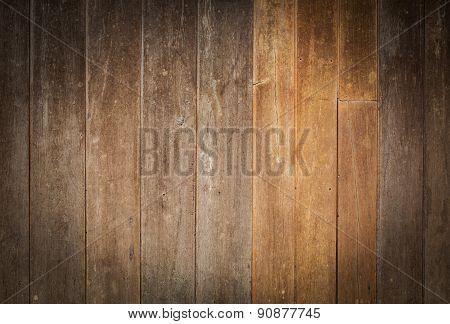 Design Of Vintage Wood Texture Background