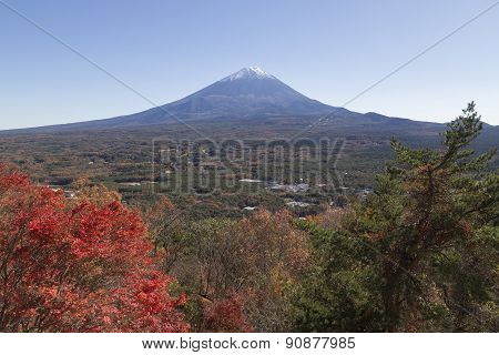 Mt.fuji In Autumn, Japan