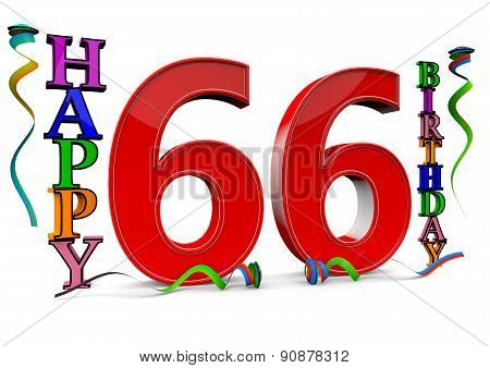 All For The Good 66 Birthday