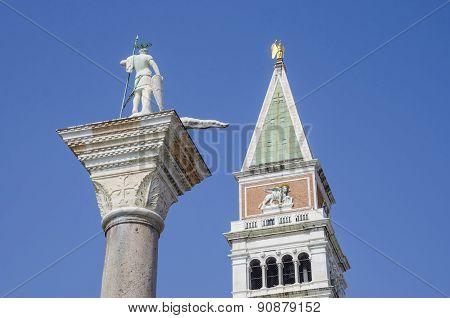 San Marco Campanile tower in Venice