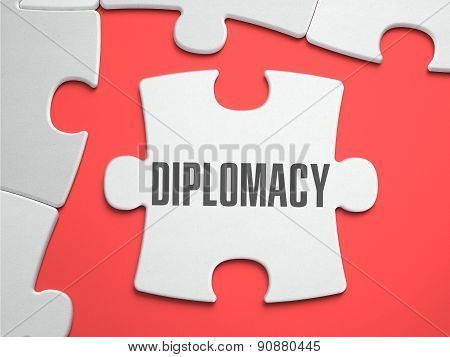 Diplomacy - Puzzle on the Place of Missing Pieces.